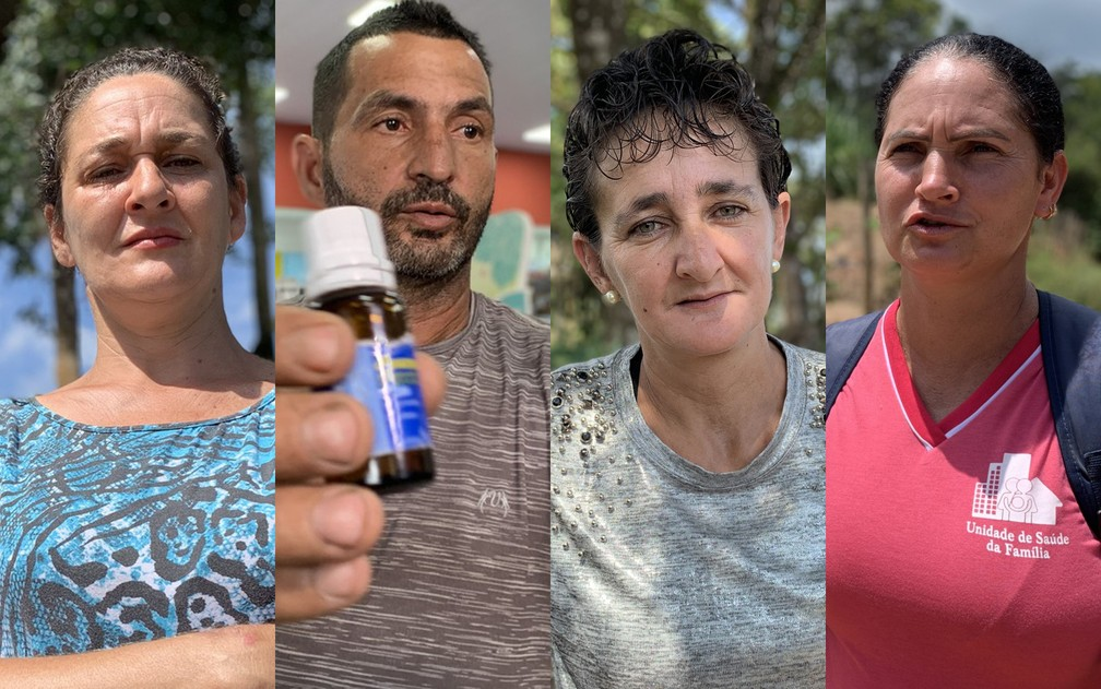 Moradores de Bruamadinho sofrem com adoecimento mental  — Foto: Raquel Freitas/G1