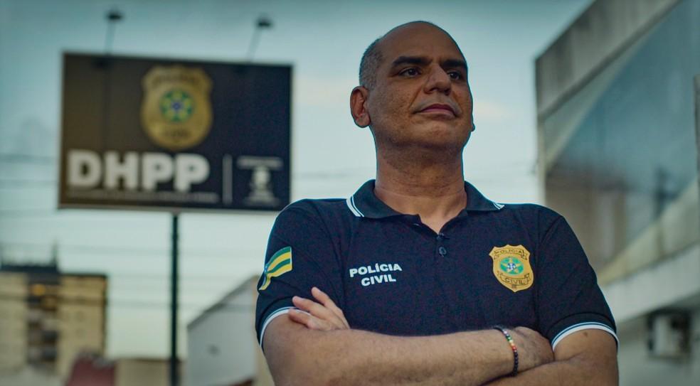 Mário Leony é delegado da Polícia Civil há 20 anos — Foto: Globo
