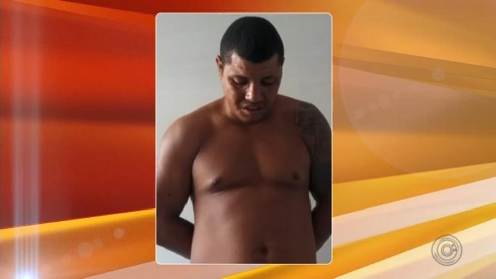 Daniel é suspeito de ter matado jovem Júlia a facadas em Araçatuba — Foto: Reprodução/TV TEM
