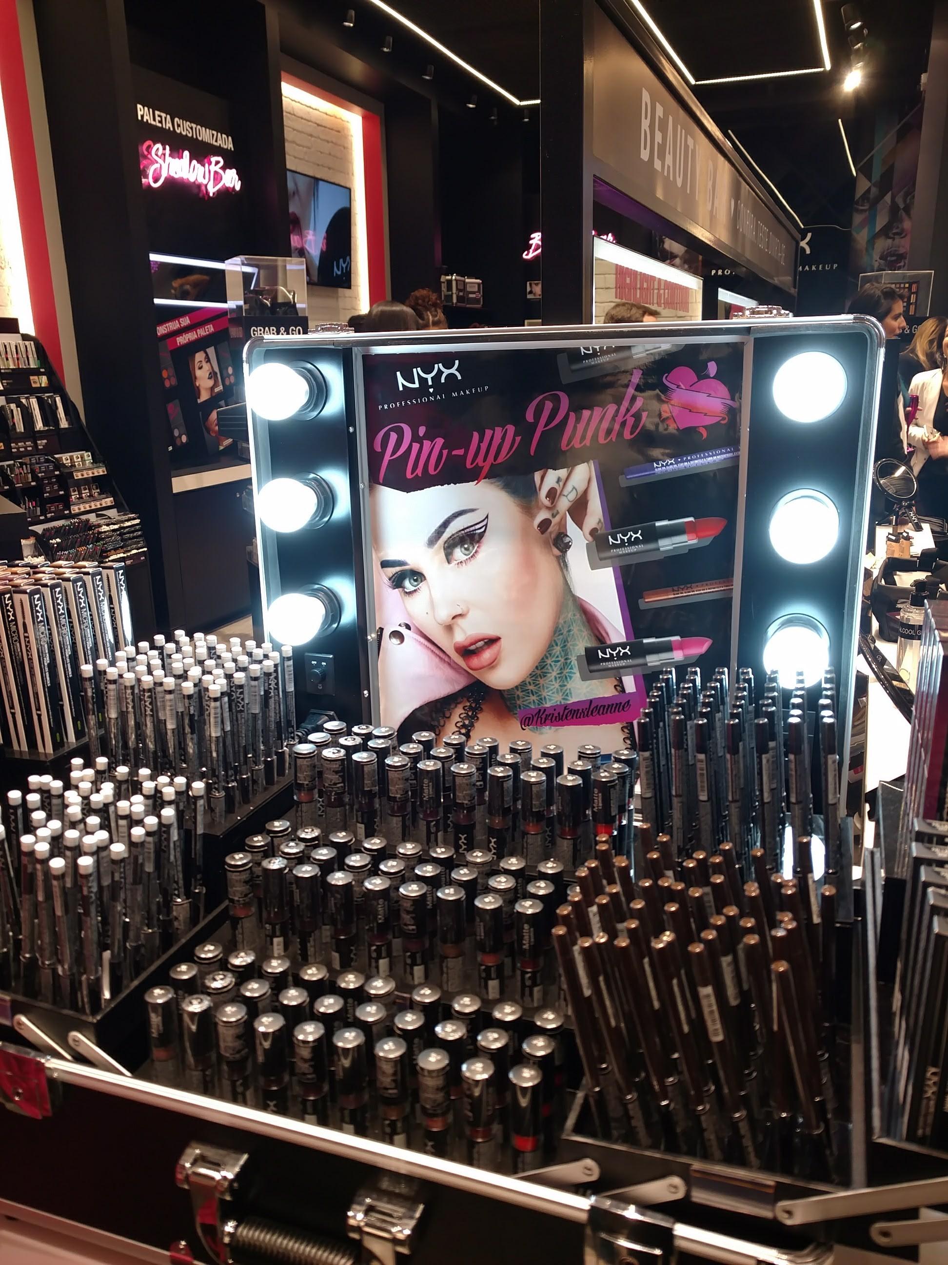 Loja da NYX no Barra Shopping
