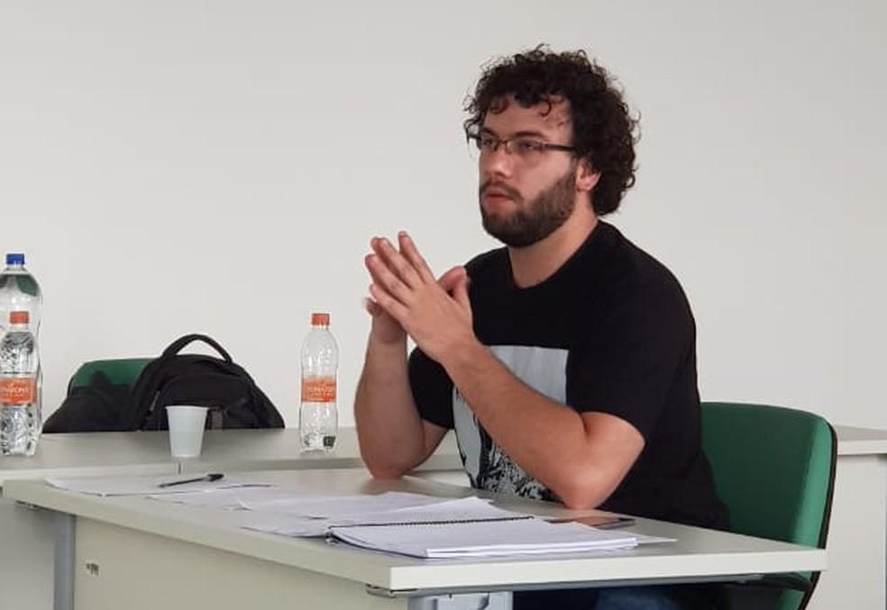 Diogo Canhadas, 34 anos, é professor da rede pública estadual de SP. — Foto: Arquivo Pessoal