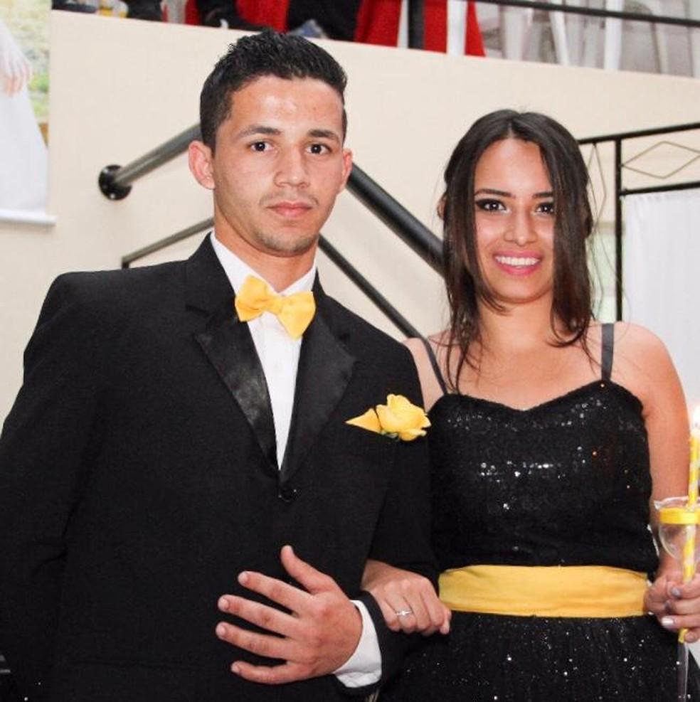 Jackson Silva dos Santos e Geovanna Crislaine Soares da Silva — Foto: Arquivo pessoal