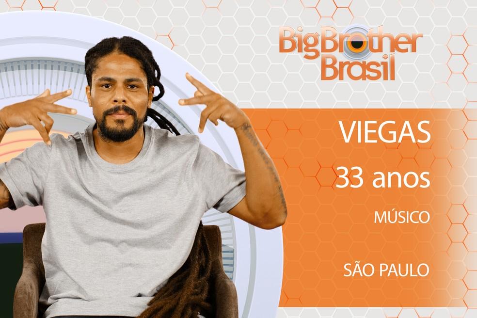 Viegas é participante do BBB18 (Foto: TV Globo)