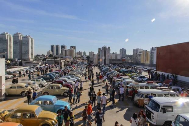 O Encontro de Clássicos reúne fãs do automobilismo há 15 edições (Foto: Divulgação)