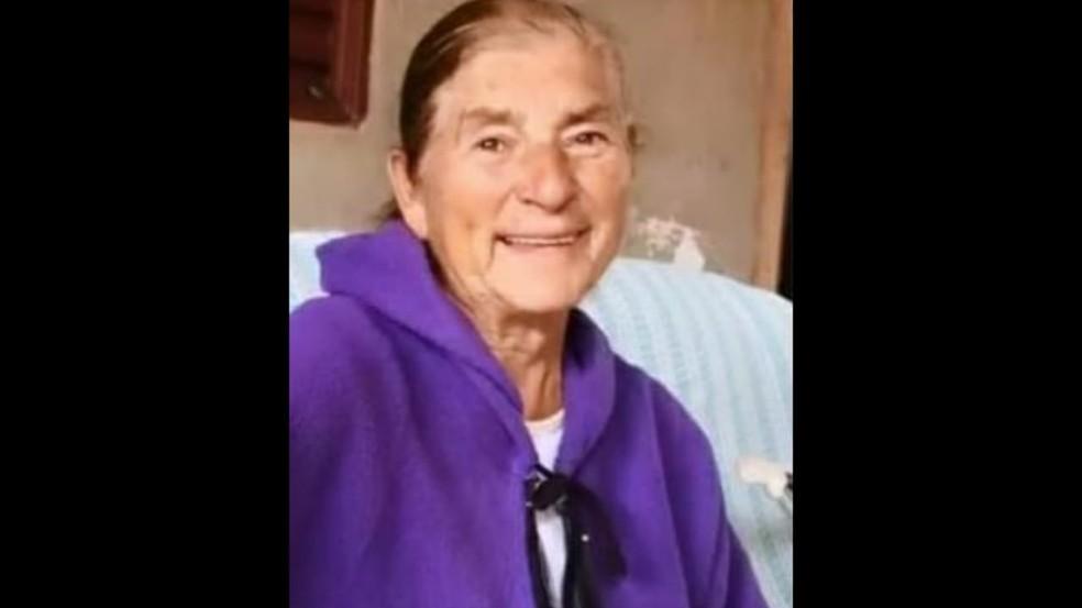 Maria Aparecida Firmo, avó de Michele Bolsonaro — Foto: Reprodução/Redes sociais