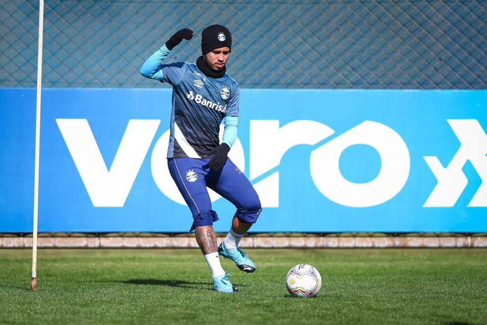 Matheus Henrique, do Grêmio — Foto: Lucas Uebel/Grêmio