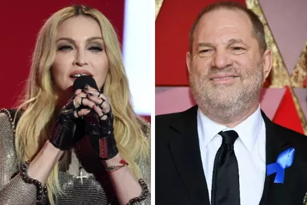 Madonna e Harvey Weinstein (Foto: Getty Images)