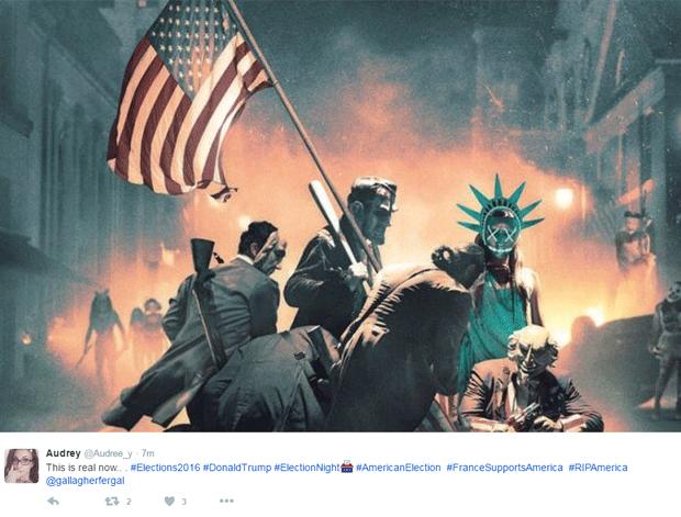 meme Eleições EUA (Foto: Reprodução/Twitter)