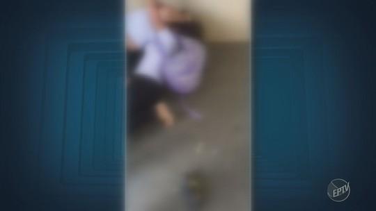 Estudante leva facada no rosto dentro de escola estadual em Campinas; vídeo mostra briga