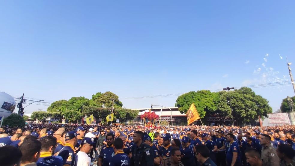 Círio 2019 - Passagem da santa pela Estações das Docas — Foto: Gabriel Buenãno/Ascom Guarda de Nazaré