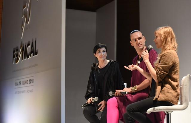 Meline Moundjian, Dudu Bertholine e Eloisa Artuso (Foto: Cleiby Trevisan e David Mazzo)