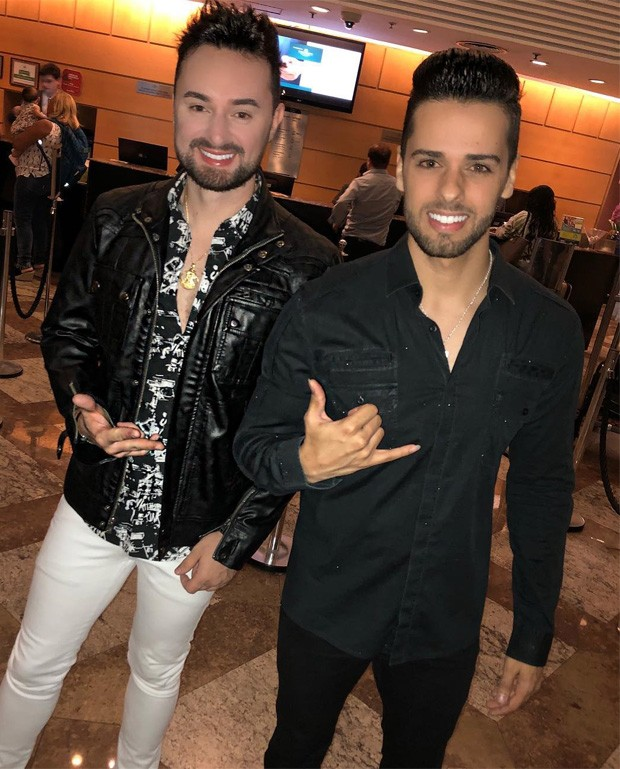 Victor e Neto (Foto: Reprodução/Instagram)