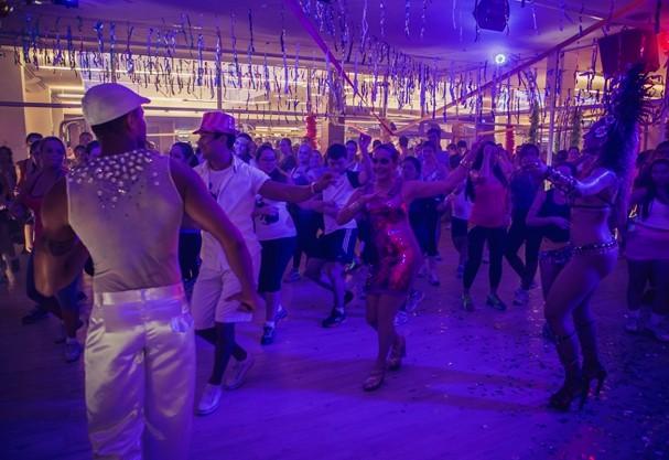 Balada fitness (Foto: Divulgação)