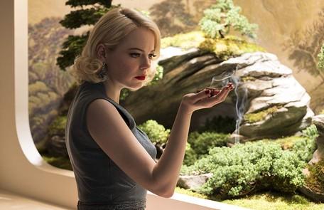 Emma Stone foi indicada na categoria melhor atriz coadjuvante por 'A favorita'. Ela é a protagonista, ao lado de Jonah Hill, de 'Maniac', da Netflix Michele K. Short / Netflix