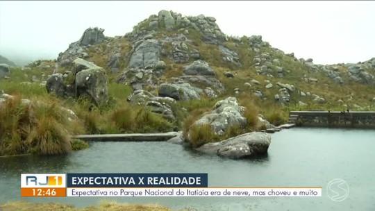 RJTV mostra expectativa de neve no Parque Nacional do Itatiaia no fim de semana