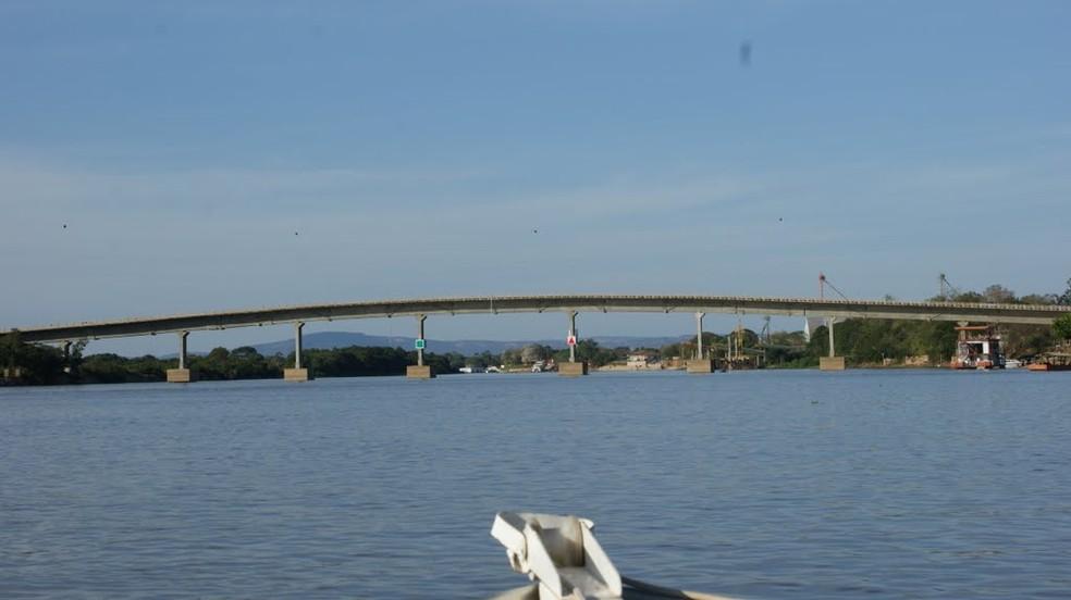 Rio Paraguai em Cáceres — Foto: Divulgação
