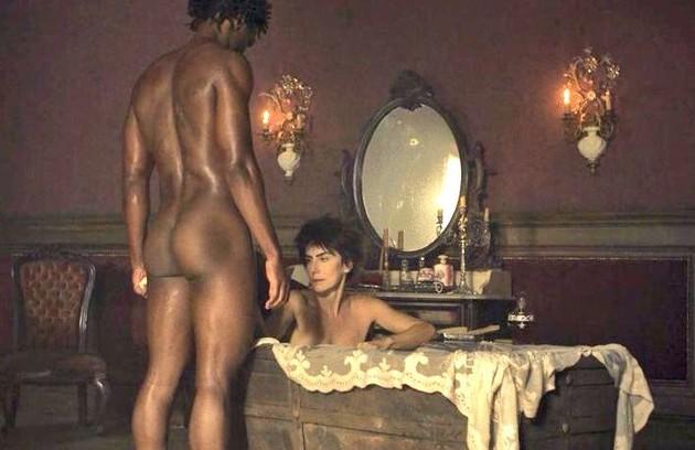 Maitê Proença teve cenas quentes com David Junior na trama das 23h 'Liberdade, liberdade'  (Foto: Reprodução)