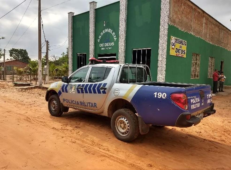 Igreja é furtada durante a madrugada em Araguaína (Foto: AF Notícias )