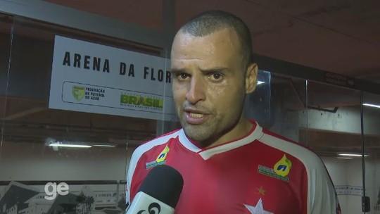 De olho na Copa Verde, zagueiro destaca importância de duelo com Manaus-AM