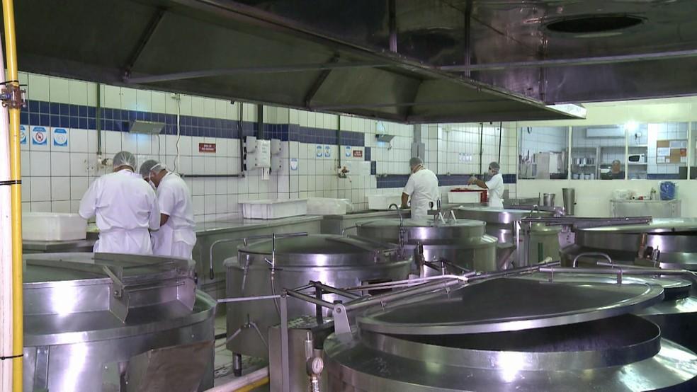 Empresa Casa de Farinha ffoi denunciada pelo Ministério Público Federal (MPF) por causa de contratos com o Hospital dos Servidores do estado (HSE) — Foto: Reprodução/TV Globo