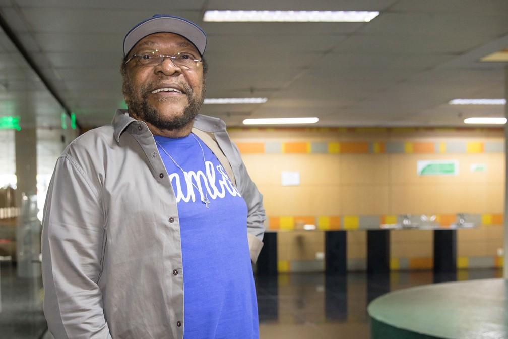 O sambista Martinho da Vila (Foto: Celso Tavares/G1)