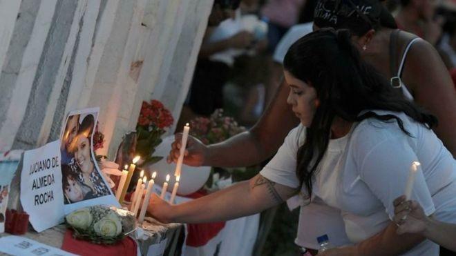 Rompimento em Brumadinho pode se tornar pior tragédia em perda de vidas humanas envolvendo termos de perda de vidas humanas envolvendo acidade com barragens (Foto: REUTERS/WASHINGTON ALVES via BBC)