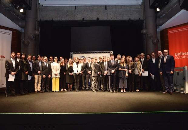Representantes das empresas signatárias do Movimento Empresarial pela Integridade e Transparência (Foto: Ivan Almeida)