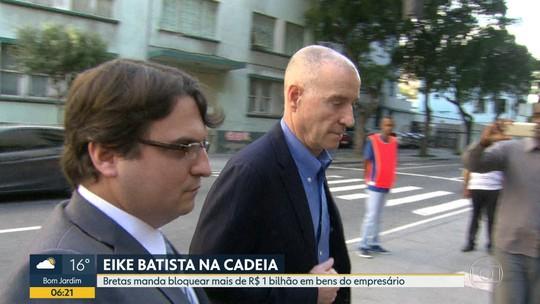 Bretas manda bloquear mais de R$1 bilhão de Eike Batista