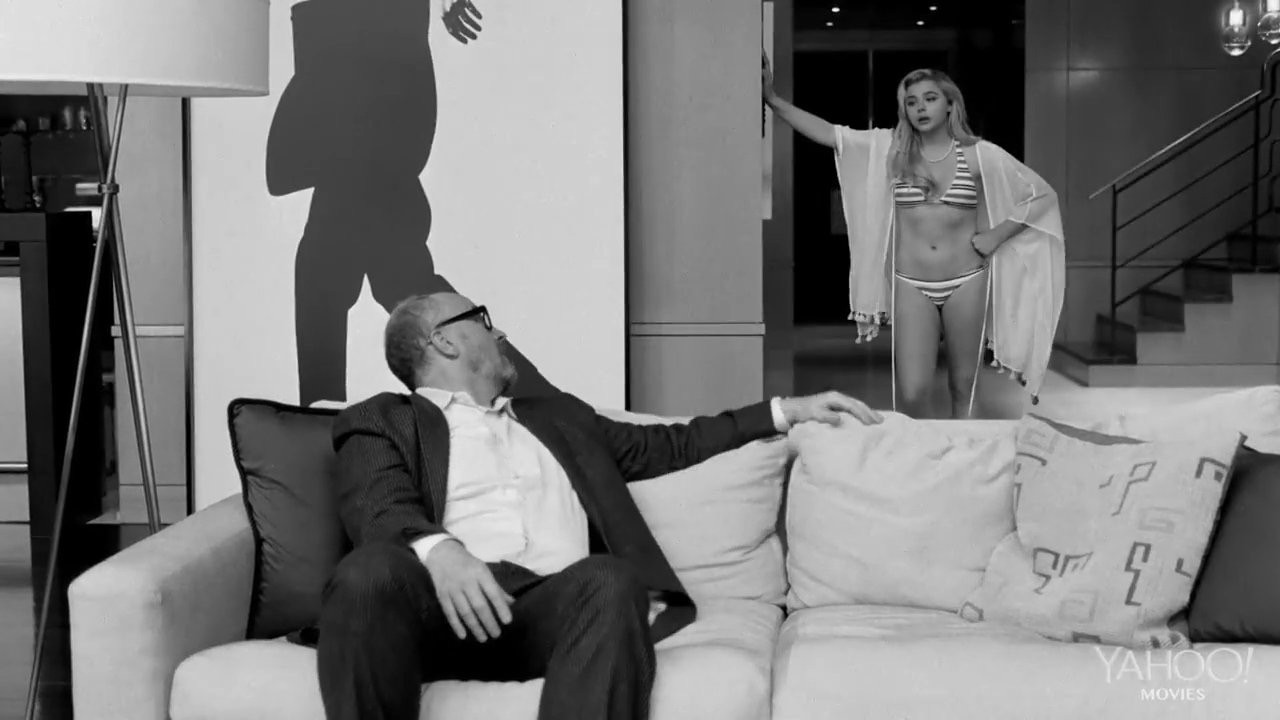 Louis C.K. e Chloe Grace Moretz em 'I Love You, Daddy' (Foto: Divulgação)