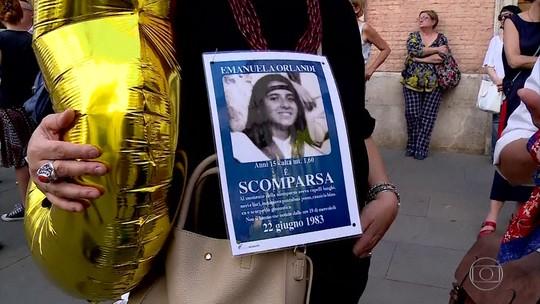 Desaparecimento de menina italiana no Vaticano, há 36 anos, ganha novo capítulo