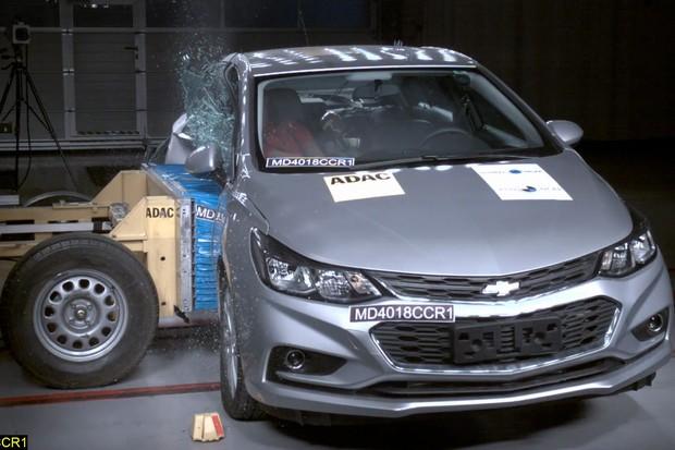 Chevrolet Cruze - Latin NCAP (Foto: Divulgação)