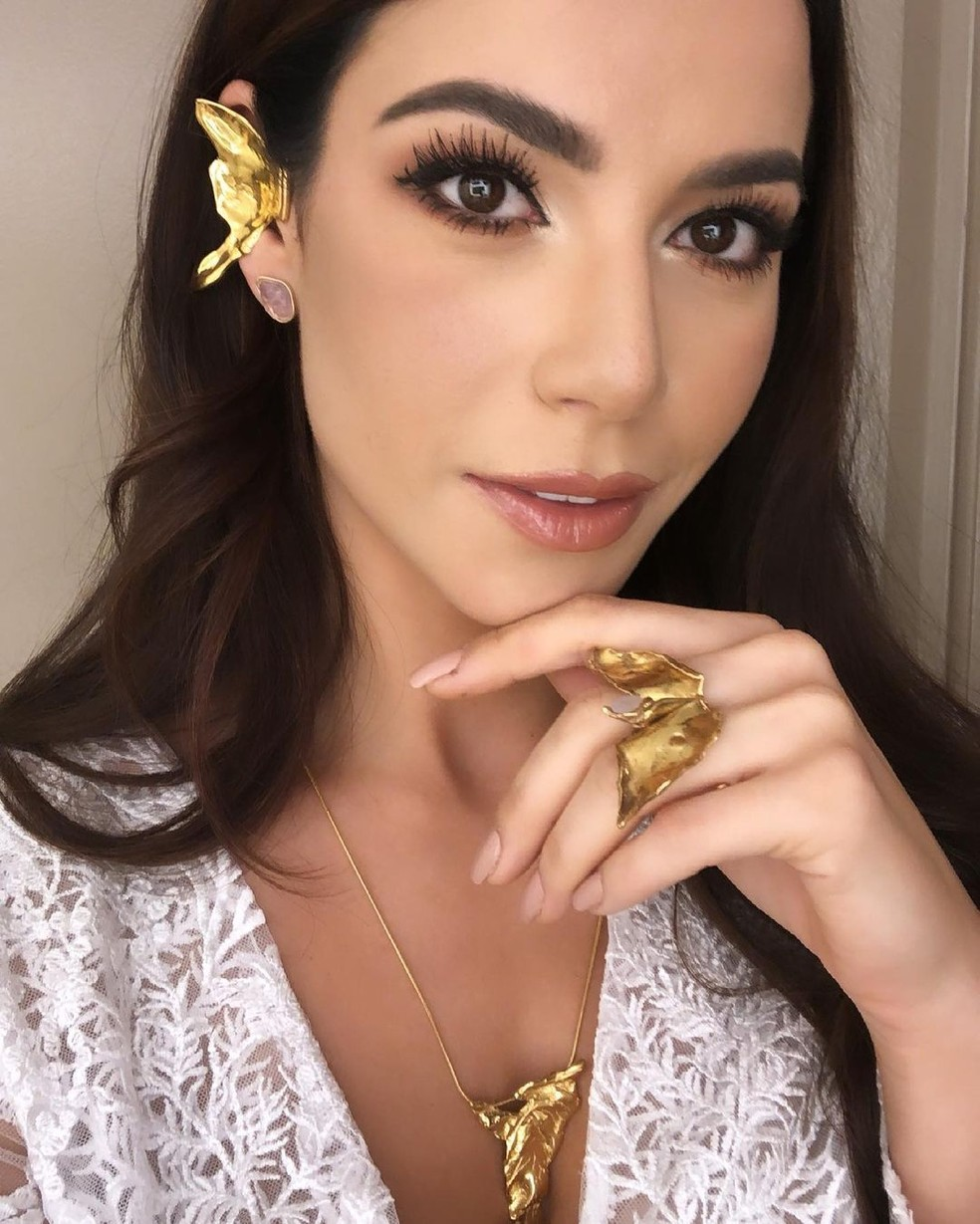 Julia Gama é Miss Brasil 2020 — Foto: Arquivo Pessoal