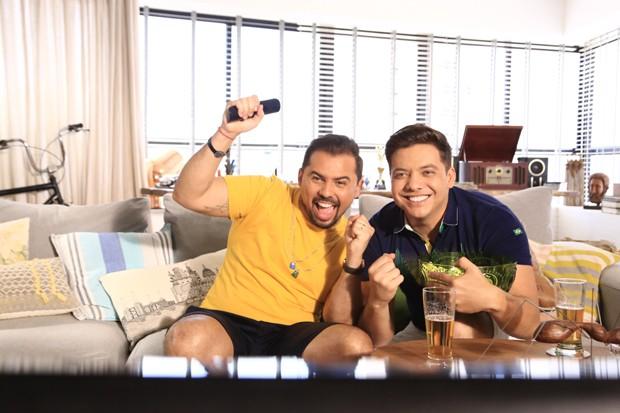 Xand Avião e Wesley Safadão (Foto: Divulgação/Diego Moreira)
