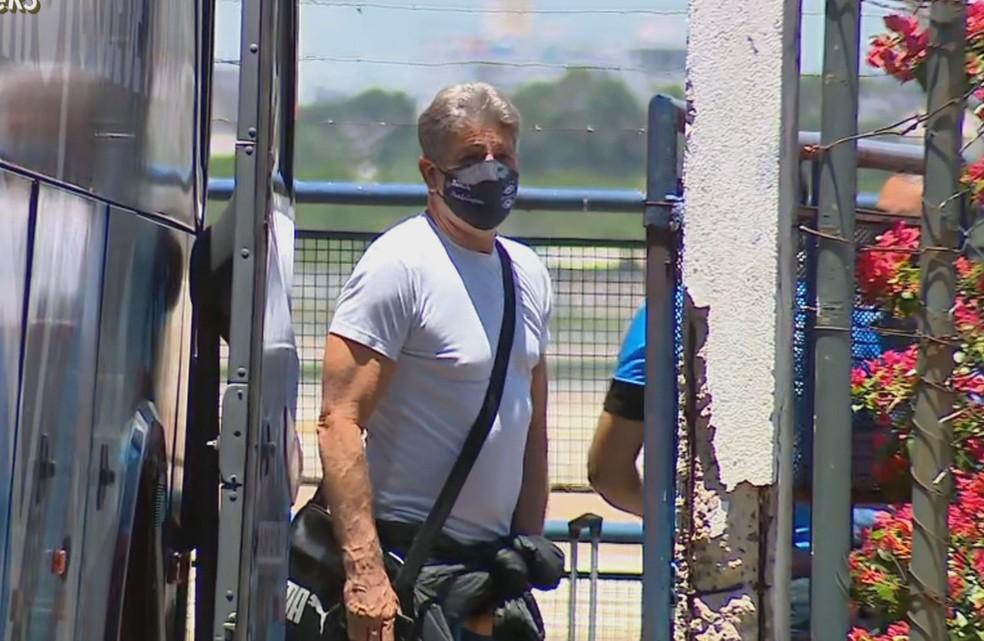 Renato Portaluppi busca colocar o Grêmio nas semifinais — Foto: Reprodução
