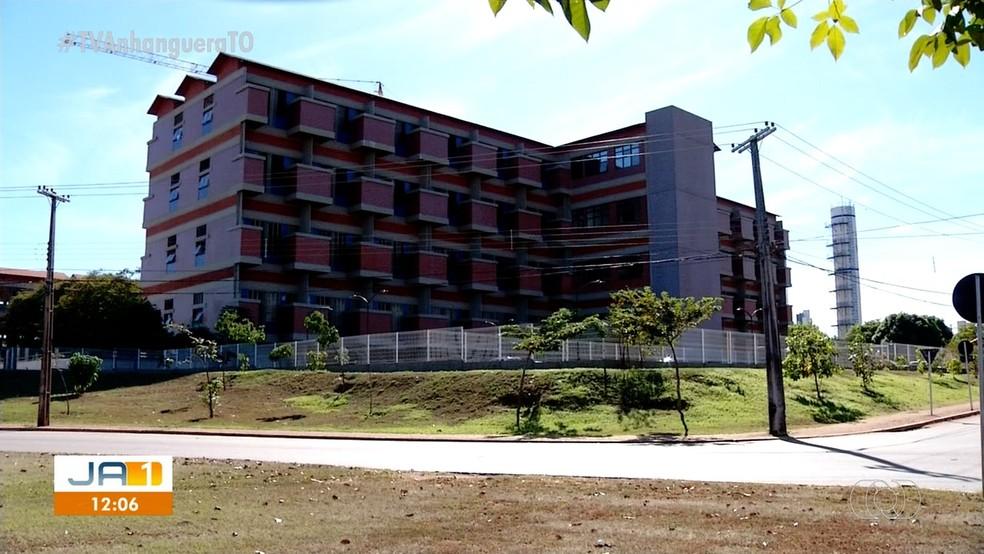 HGP Hospital Geral de Palmas — Foto: Reprodução/TV Anhanguera