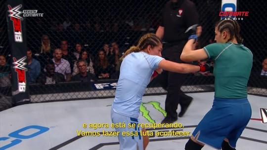 """Valentina: """"Quanto mais vejo minha luta com Amanda, mais tenho certeza que venci"""""""