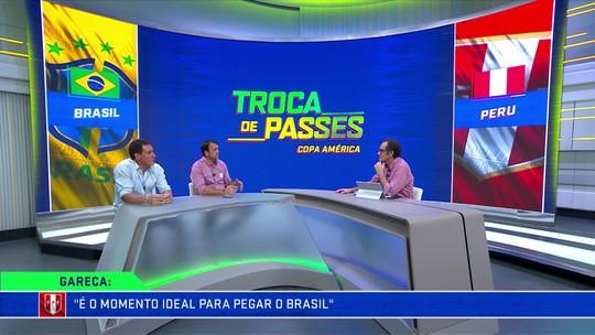 """Gamarra prevê dificuldades sobre linha defensiva do Peru: """"Incomoda muito o Brasil"""""""