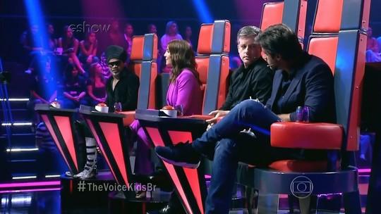 Candidatos do 'The Voice Kids' falam sobre a fama após Audições