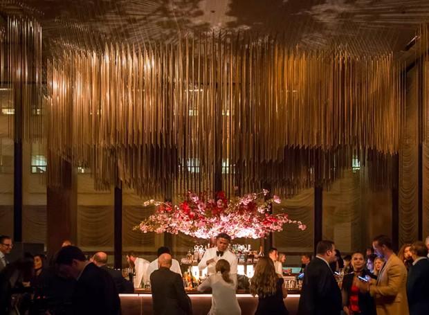 Inaugurado em 2017, The Grill fica localizado no antigo local onde era o restaurante The Four Seasons, mais precisamente no endereço 99th E 52nd St, de Nova York (Foto: Gary He/ Reprodução)