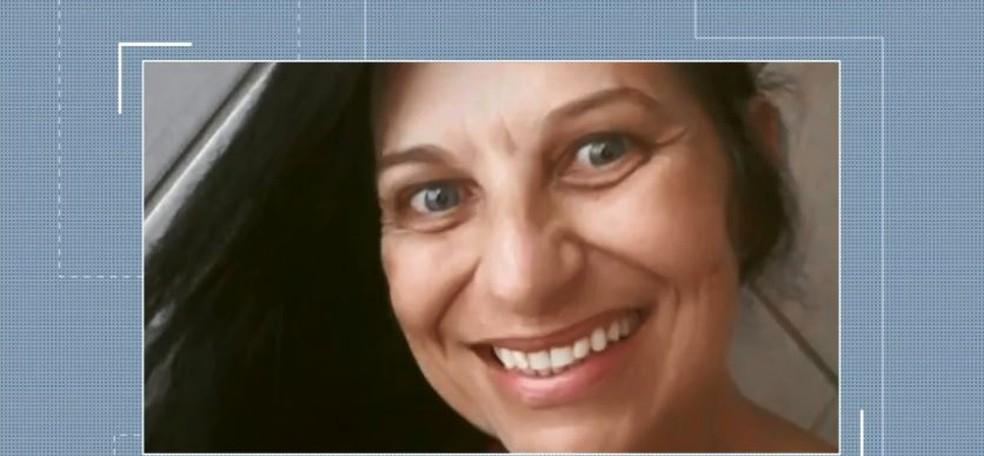 Bernadete Libardo foi encontrada morta na quarta-feira (16) — Foto: Reprodução/NSC TV