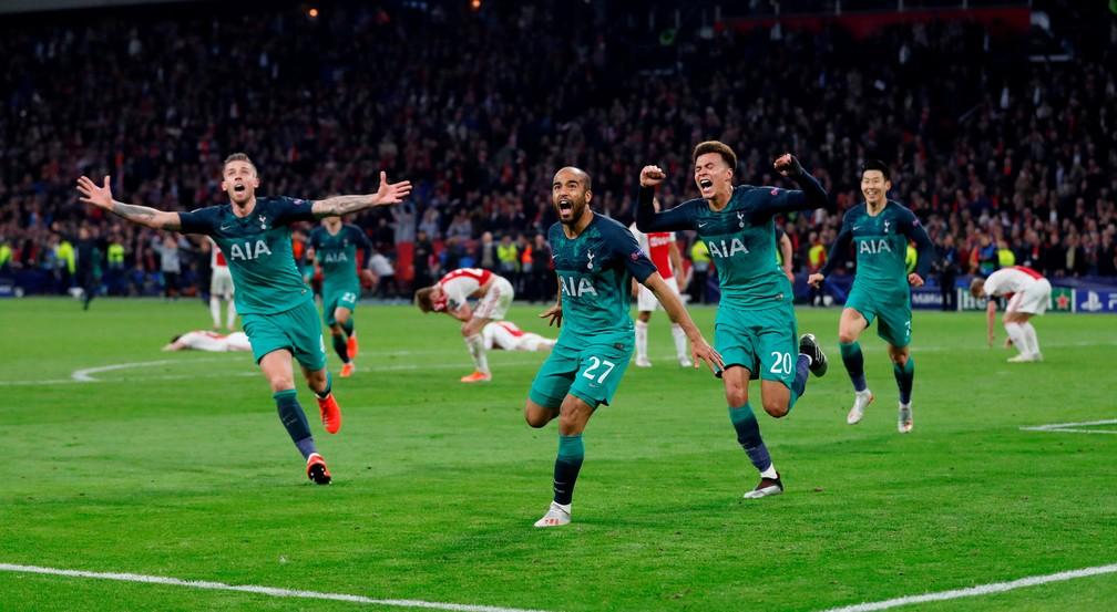 Tottenham ficou em oitavo pela primeira vez depois de chegar à final da Champions — Foto: Matthew Childs/Reuters