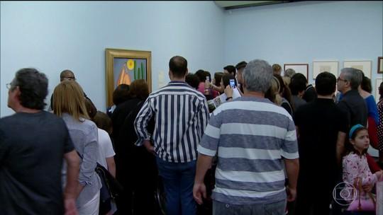 """Exposição """"Tarsila Popular"""" atraiu o maior público da história do Masp"""
