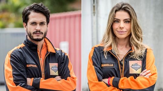 Raphael Vianna e Daniella Cicarelli são eliminados do 'Desafiados'