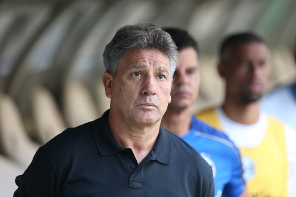 Renato despistou sobre Luan e Jean Pyerre — Foto: José Leomar/SVM