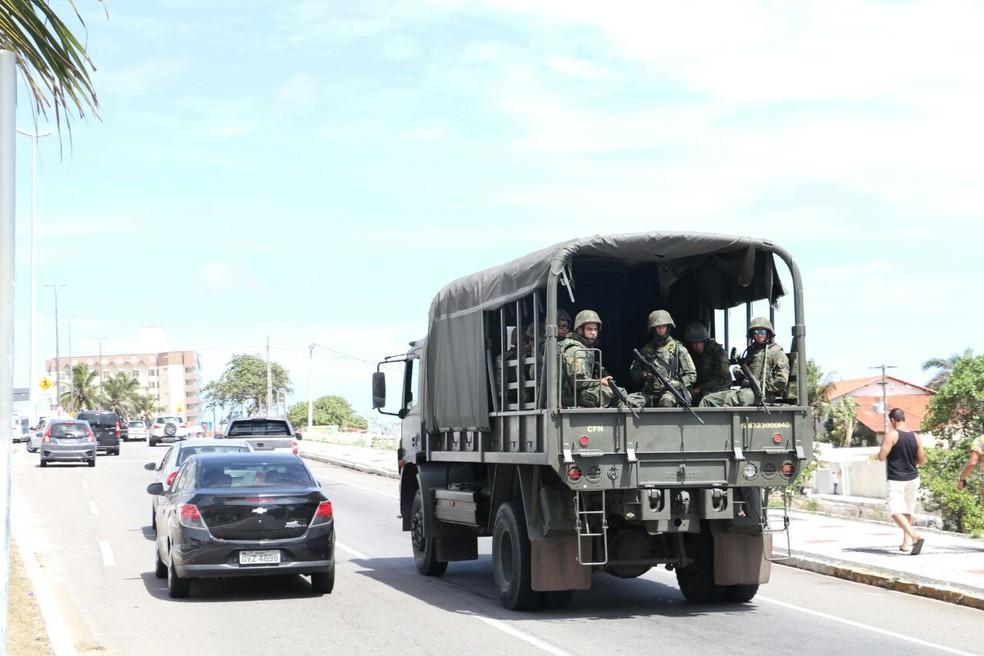 Ministro da Defesa garante 2.800 militares nas ruas a partir das 16h30