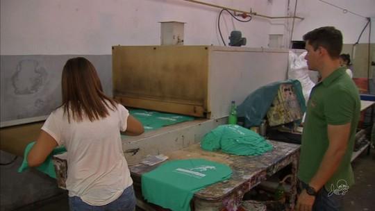 Camisas da Corrida TV Verdes Mares são confeccionadas para a prova