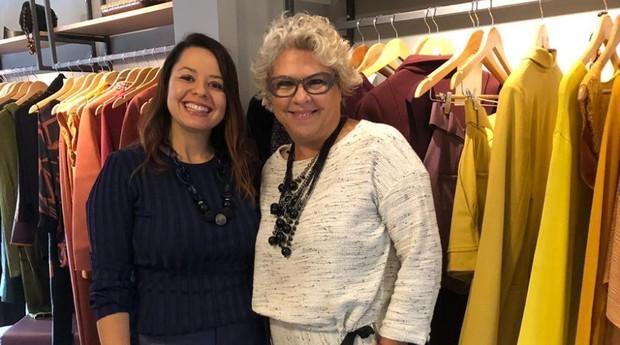 Raquel Damasceno (esquerda) e Selma Barbugian, fundadoras da Bloom Me (Foto: Divulgação)