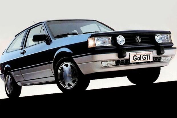Volkswagen Gol GTi 2.0 foi estrela do Salão de 1988 (Foto: Divulgação)