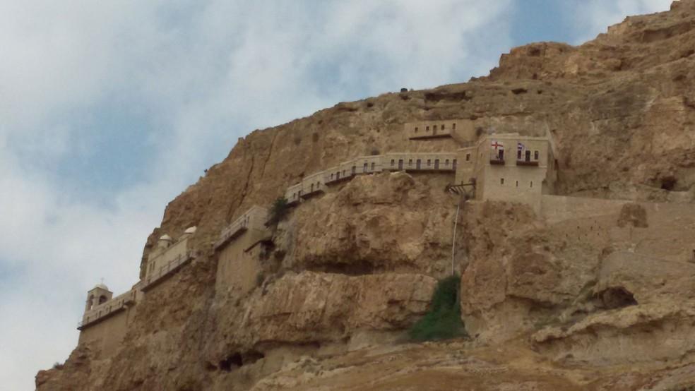 Cidade de Jericó é destino de turistas em território palestino (Foto: Letícia Macedo/ arquivo pessoal)