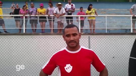 Destaque na 2ª divisão do AC é auxiliar de pedreiro e estreia no futebol profissional